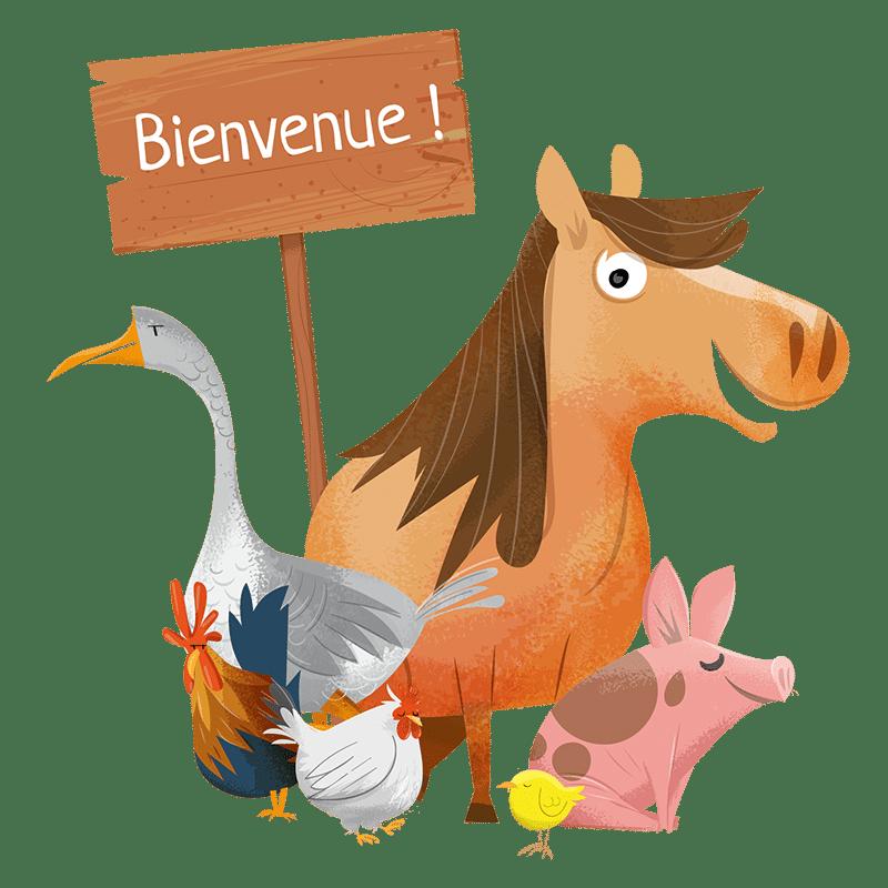Bienvenue à la ferme pédagogique St-Pierre Lafeuille